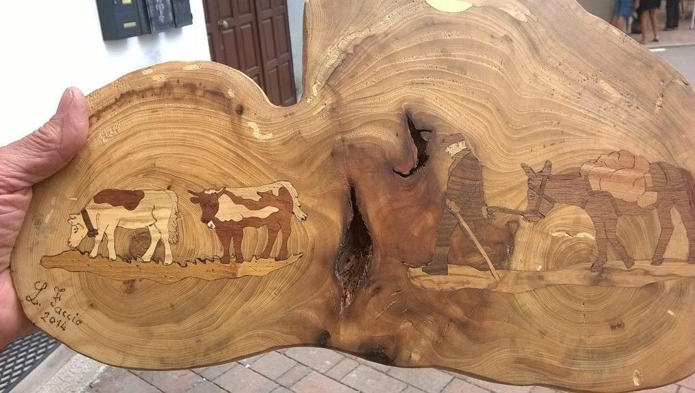 Dipingere con essenze del legno
