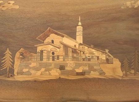 Dipingere con essenze del legno.