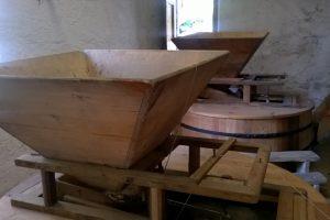 Il mulino e il legno.