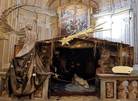RIVOLI – IL PRESEPE FLUTTUANTE – CHIESA SANTA CROCE